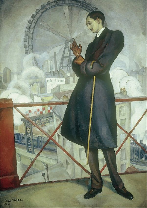 Adolfo Best Maugard, 1913 by Diego Rivera