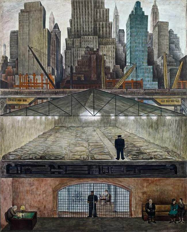 Frozen Assets, 1931 by Diego Rivera