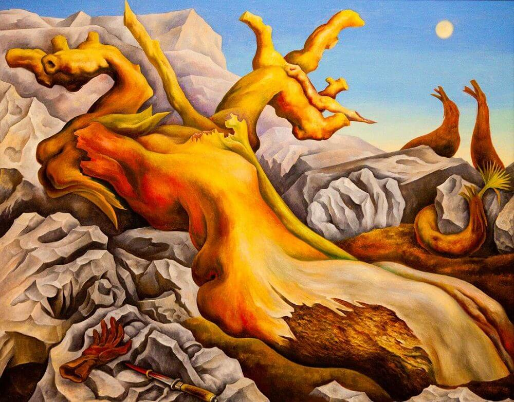 foto de Symbolic Landscape, 1940 by Diego Rivera