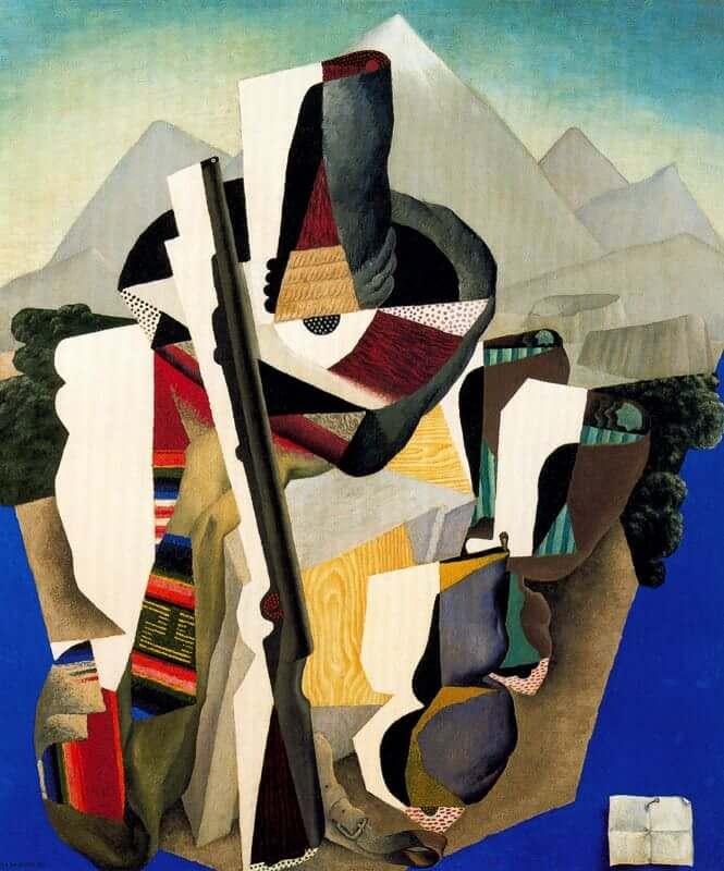 Zapatista landscape 1915 by deigo rivera for Mural zapatista