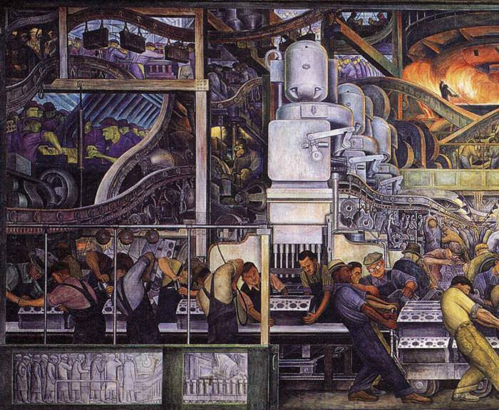 Diego rivera murals for Diego rivera mural detroit