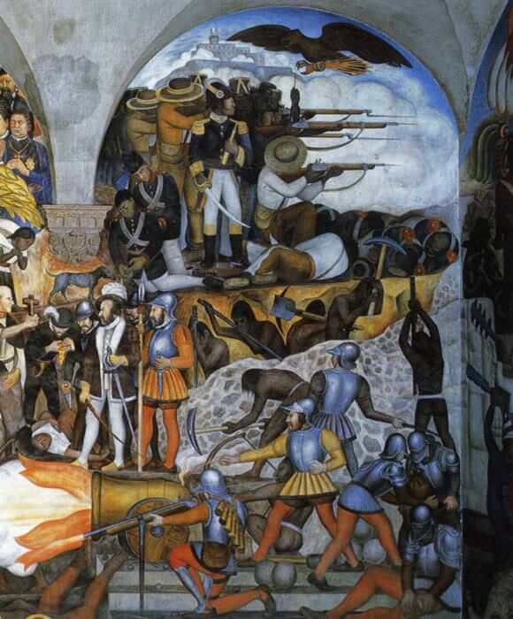 Diego rivera murals for Diego rivera creation mural