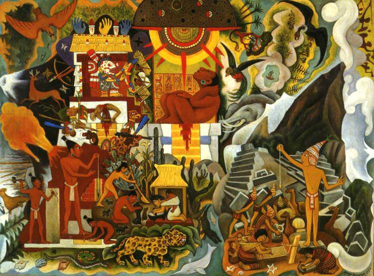 Diego rivera paintings for Diego rivera s most famous mural